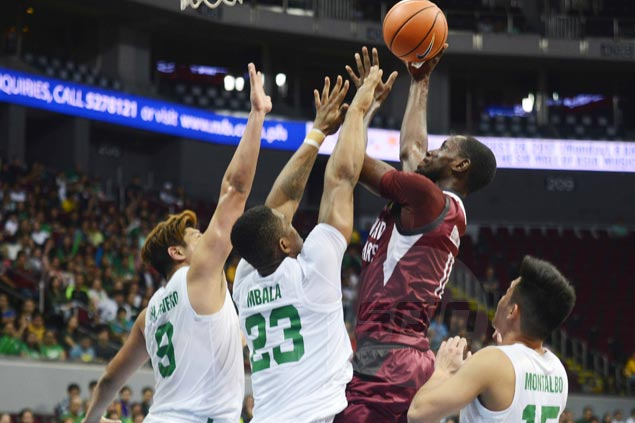 UP Fighting Maroons hit 16 triples to deal titleholder La Salle Green Archers first loss of season