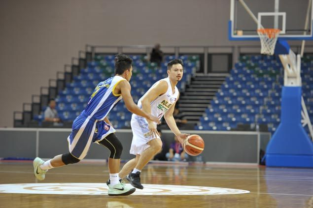 Toto Villarias shoots down late Yulon Luxgen Dinos rally as NLEX-SCTEX nabs first win in Merlion Cup