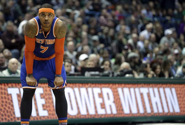 Carmelo joining Russell Westbrook and Paul George as Knicks agree to trade with Thunder
