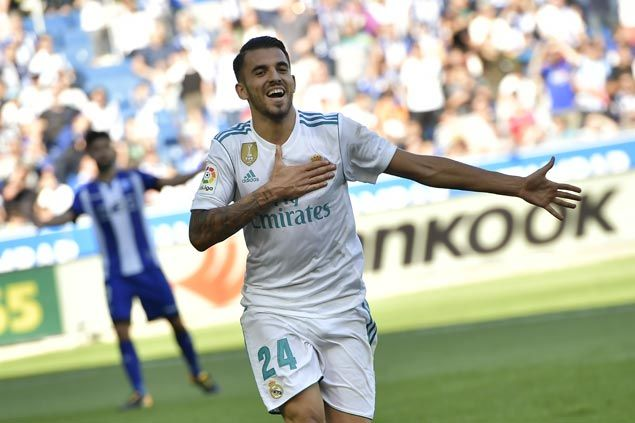 Dani Ceballos scores twice in first start as Real Madrid downs Alaves