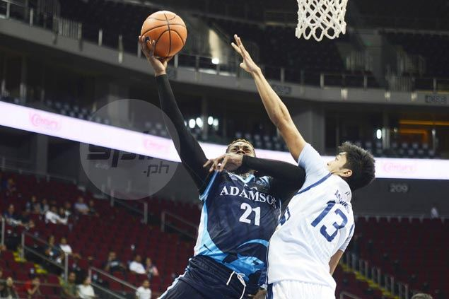 Adamson Falcons bounce back and move to a share of fourth with victory over NU Bulldogs