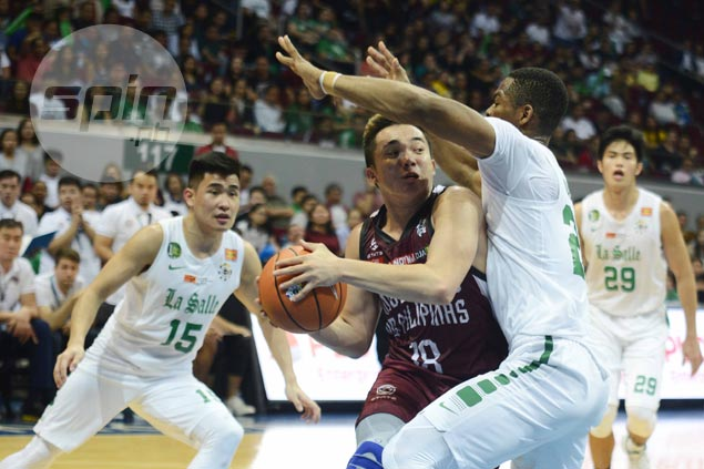 With 30-point game that powered UP past La Salle, Paul Desiderio earns UAAP Player of the Week nod