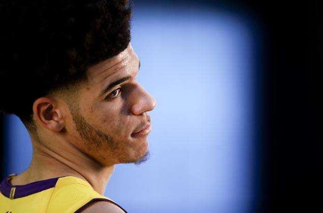 Excitement mounts but Lonzo Ball remains calm in the center of the storm