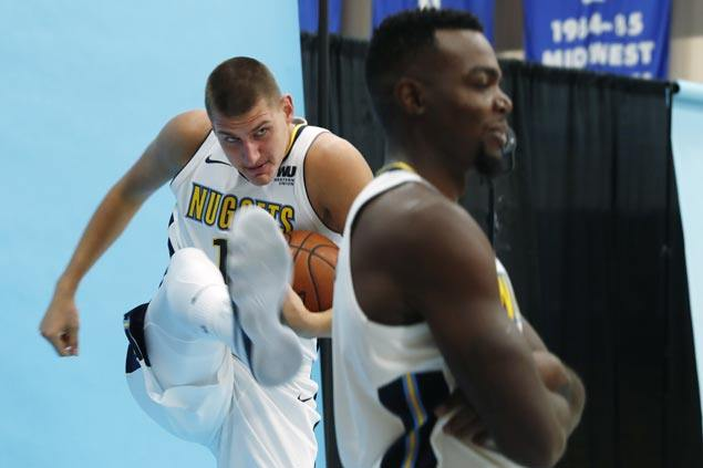 With youthful nucleus, Nuggets try to barge into playoffs after narrowly missing out last season
