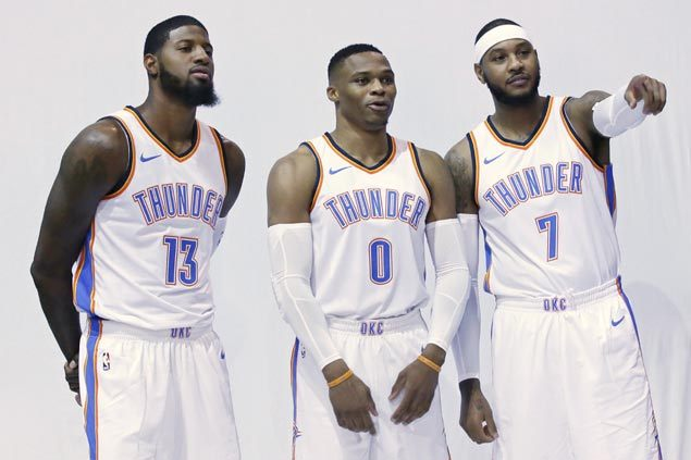 Carmelo Anthony says strong bond with Westbrook key in waiving no-trade clause to join OKC