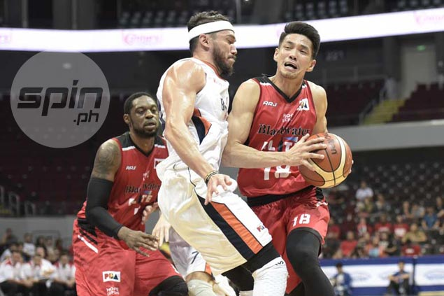 Jared Dillinger feels hit on Roi Sumang not flagrant, but quick to own up for crucial mistake