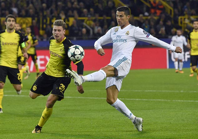 Cristiano Ronaldo hits another brace in Champions League as Madrid downs Dortmund