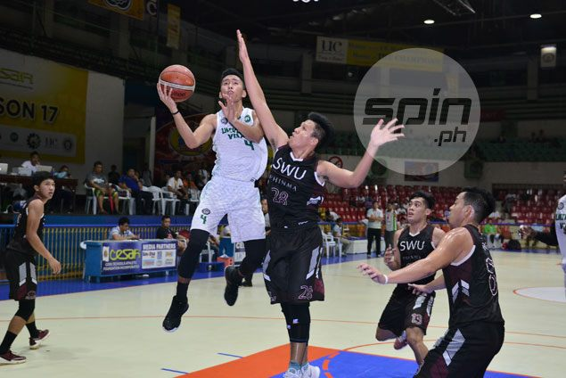 Cesafi leader University of the Visayas eliminates Southwestern University from semis race