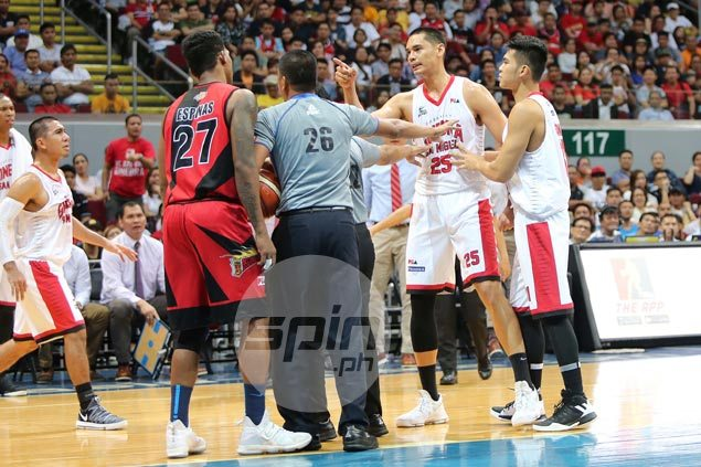 Japeth Aguilar brushes off spat with Espinas after SMB forward's confrontation with Ginebra cager's dad