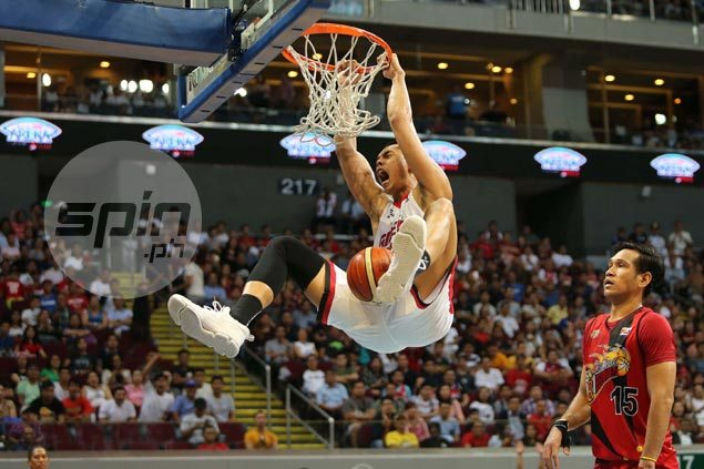 Ginebra plays Grand Slam spoiler, clobbers SMB to march on to Governors Cup semifinals