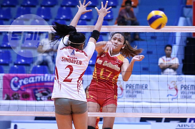 San Sebastian turns back Lyceum to snap skid in PVL Collegiate Conference