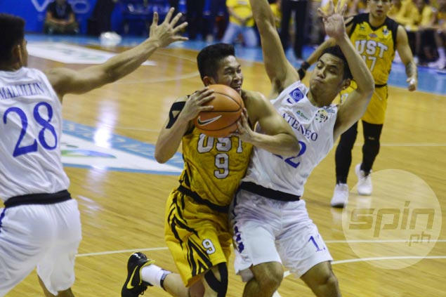 Marvin Lee says UST won't be winless for long after gallant stand vs Ateneo