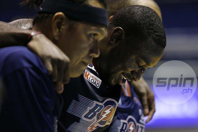 Meralco wary of swelling on Durham's sprained ankle, but Bolts import says he'll be ready vs Star