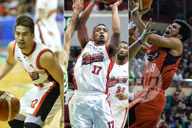 Alaska signs Kevin Racal, Ping Exciminiano, Yutien Andrada, JP Mendoza to new deals
