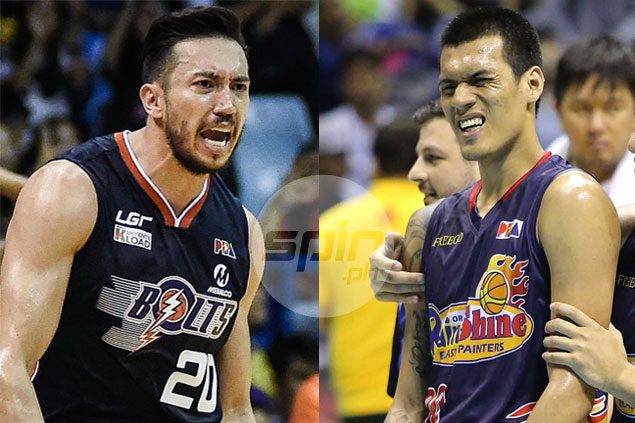Jared Dillinger, Raymond Almazan each end up P5K poorer in latest round of fines slapped by PBA