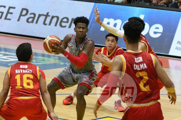 Pirates weather late Stags storm as Lyceum moves three wins away from elims sweep