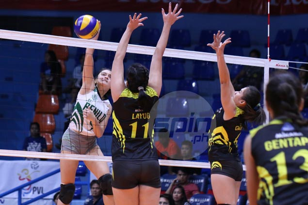 St. Benilde Lady Blazers end PVL stint on a high note with four-set win over TIP Lady Engineers