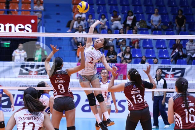 Arellano Lady Chiefs advance to PVL semis with five-set win over UP Lady Maroons