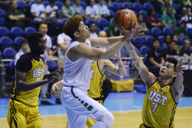 La Salle Green Archers back on track with rout of lowly UST Tigers