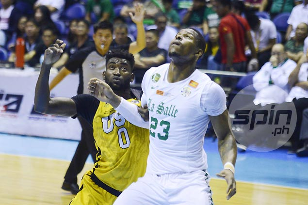 Akomo hopes to keep up with Cesafi rival Mbala's improvement as UST import proves worth in UAAP
