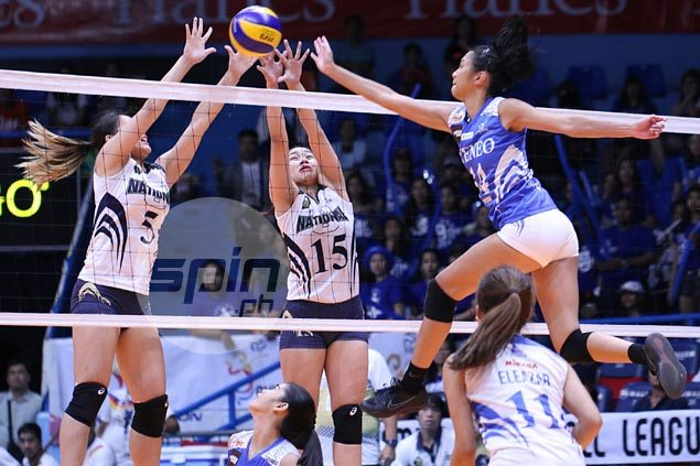 Bea de Leon lauds young Lady Eagles teammates for showing heart in loss to tough NU team
