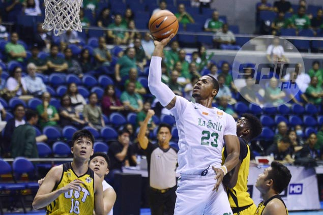 Mbala shrugs off end of double-double streak as La Salle bounce back strong from deflating loss