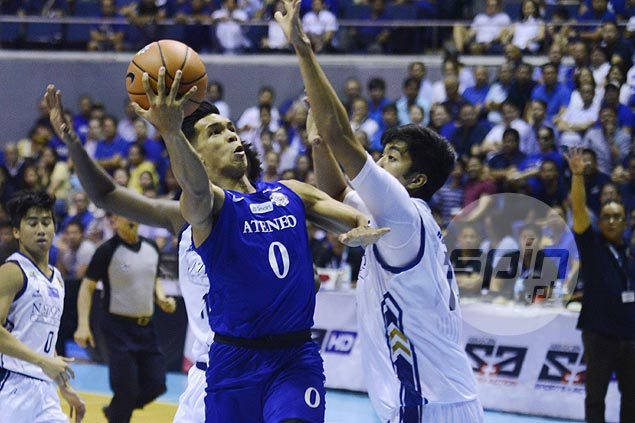 Ateneo Blue Eagles stretch unbeaten run to six as NU Bulldogs suffer third straight loss