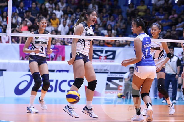 NU turns back Ateneo to complete elims sweep, book semis berth in PVL Collegiate Conference
