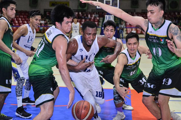 Frederick Elombi shows way as Webmasters beat Warriors to take No. 3 seed in Cesafi semis