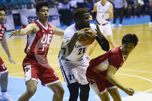 Falcons getting big lift from Papi Sarr even as import says he remains far from 100 percent after injury