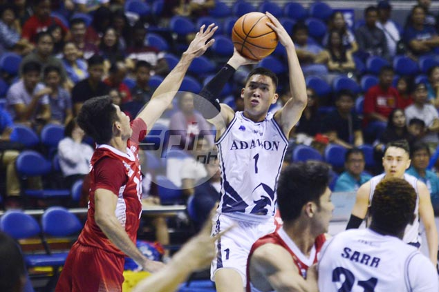 Adamson Falcons get a win run going and keep UE Red Warriors winless