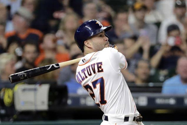 Jose Altuve wins batting title as Astros down Red Sox