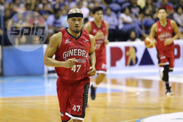 Mark Caguioa flashes vintage form as Tim Cone praises Ginebra bench in Game One rout