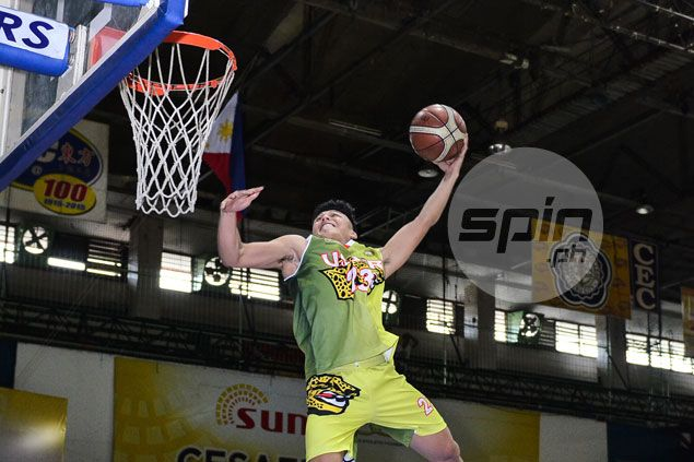 USJ-R guard Miguel Gastador bags Cesafi Slam Dunk title on third try
