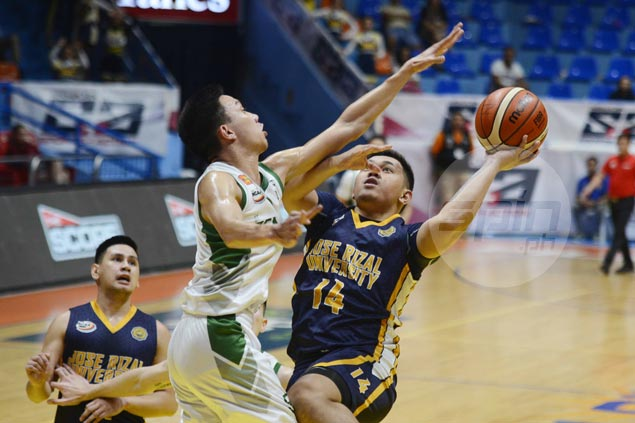 Tey Teodoro douses CSB Blazers' repeated rallies as JRU Bombers tighten grip on third spot