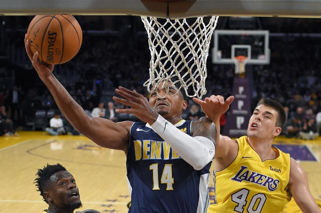 Gary Harris takes charge as Denver Nuggets keep LA Lakers winless in preseason