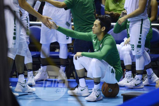 La Salle stays mum on rare limited playing time for rising star Ricci Rivero, turns focus on UE