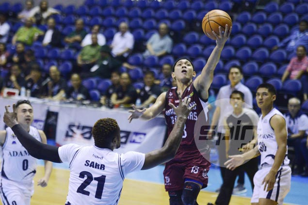 Maroons guard Jun Manzo vows to work even harder as career outing ends in loss