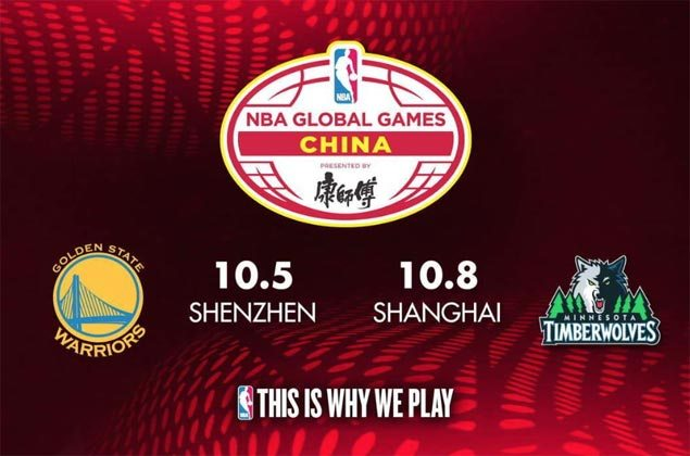 Golden State Warriors, Minnesota Timberwolves all set for NBA Global Games in China