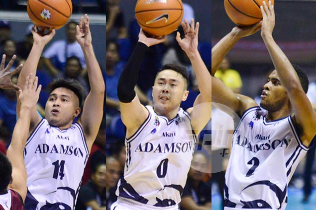 Franz Pumaren proud to see triple-threat of young Adamson guards overcome UP's explosive backcourt