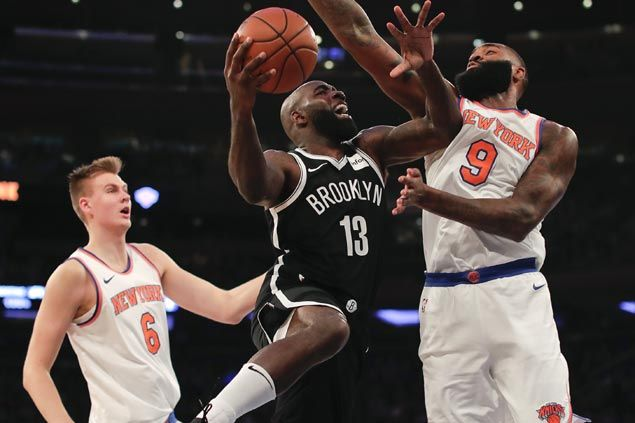 Nets sink 16 triples as Knicks fall in first game since Carmelo Anthony trade
