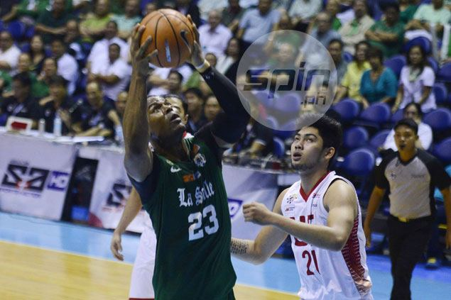 Ben Mbala lauds Alvin Pasaol scoring feat but hopes La Salle regains defensive teeth