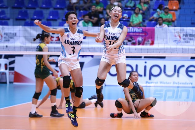 Lady Falcons outlast Lady Tams to close in on finals berth in PVL Collegiate Conference
