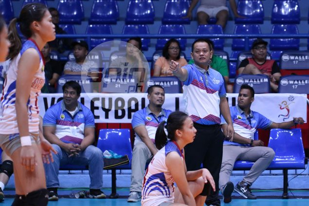 Obet Javier says Jaja Santiago's intimidating presence proved the key factor in Arellano loss