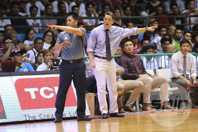 Cone asserts players, not refs, will determine Ginebra-TNT series outcome amid officiating issues