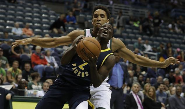 Indiana Pacers start preseason with rout of Milwaukee Bucks