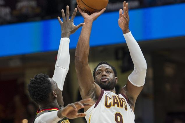 Hawks score first preseason win, spoil Cavaliers debut of Dwyane Wade and Derrick Rose
