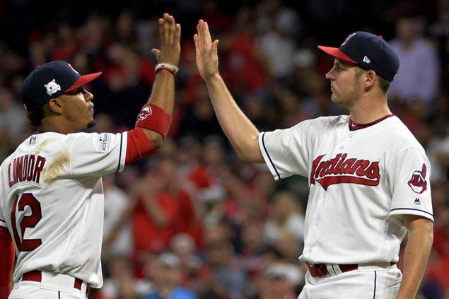 Surprise starter Trevor Bauer baffles Aaron Judge, Yankees batters as Indians take ALDS opener