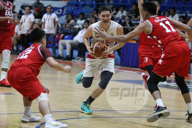 Bolick glad to see San Beda break shooting slump with crisp ball movement: 'Parang Spurs kami'