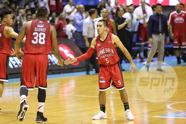 LA Tenorio plays role to the hilt as Ginebra's calming voice amidst Game Three tension